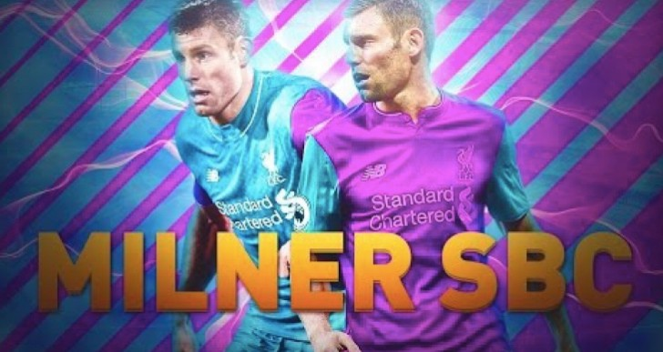 Liverpool's Milner SBC shock for FIFA 17 today