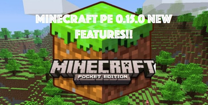 Minecraft PE 0.15.0 pistons feature a game changer