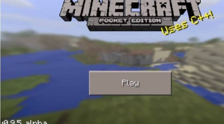 Minecraft PE 0.9.5 download for Android, iOS