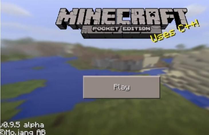 Minecraft pe apk 0. 9. 5 download.