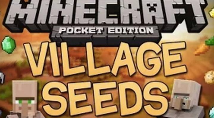 Ten Minecraft PE 0.9.5 Village seeds near spawn