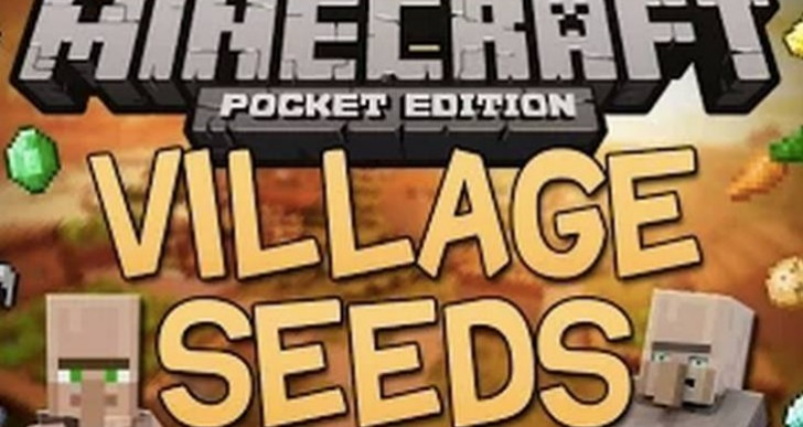 Ten Minecraft PE 0.9.5 Village seeds near spawn