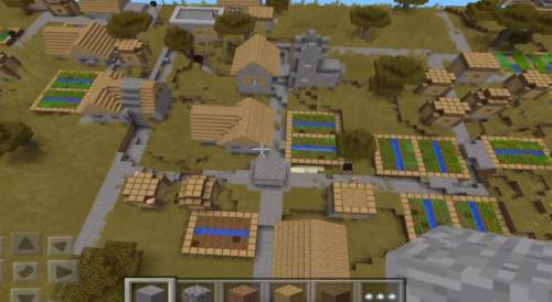 minecraft-huge-village-seed