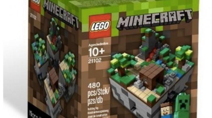 Minecraft Legos 21102 stock sadness for Christmas 2013