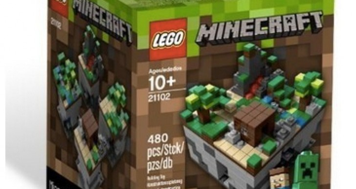 Minecraft Legos 21102 stock sadness for Christmas 2013