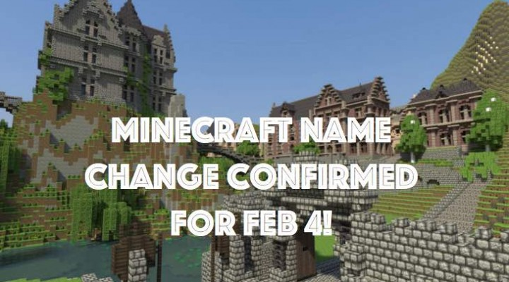 Minecraft name change update release date with FAQ