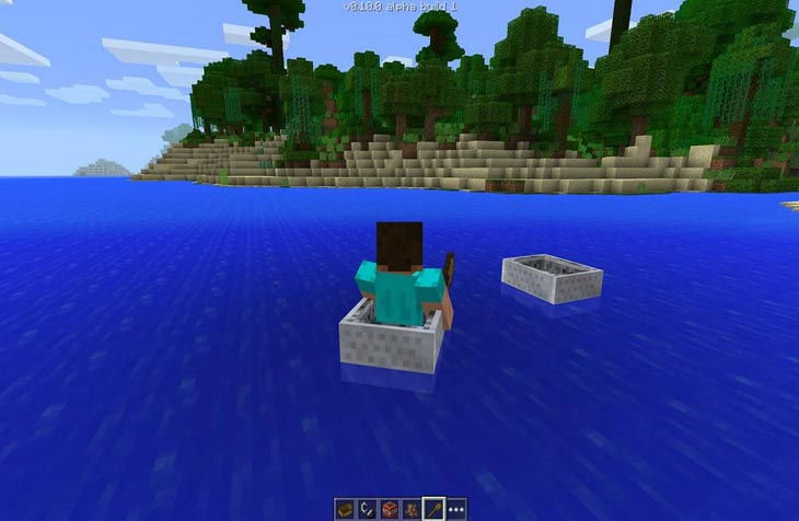 minecraft-pe-lots-of-boats