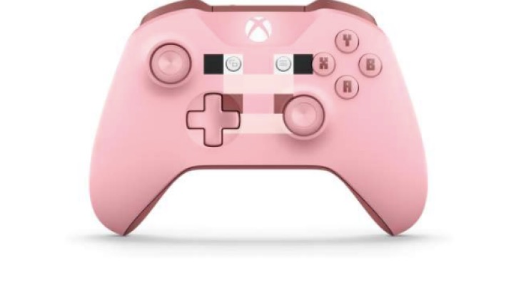minecraft-pig-xbox-one-controller