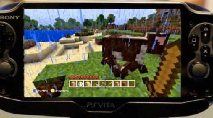 Minecraft PS Vita Vs Windows Phone demand