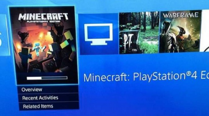 Minecraft PS4 download live in EU, not US