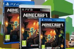 Minecraft PS4 disc release date, PS Vita delay