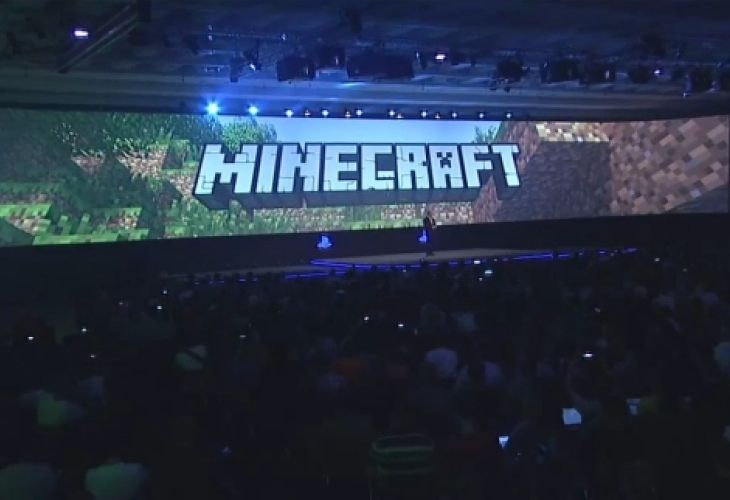 Minecraft on PS4, PS Vita release excitement