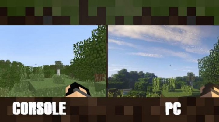 Minecraft PS4, Xbox One Vs PC graphics still no contest