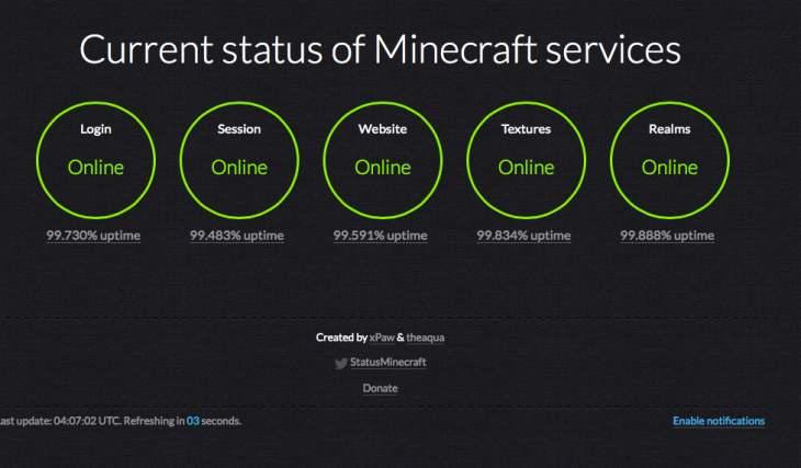 minecraft-server-status