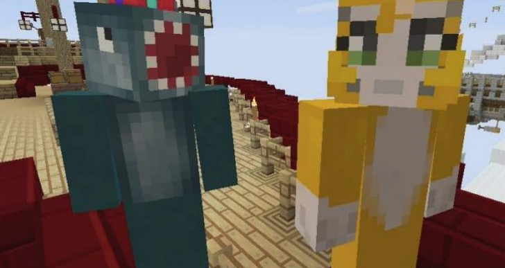 Minecraft TU19 with secret stampy island
