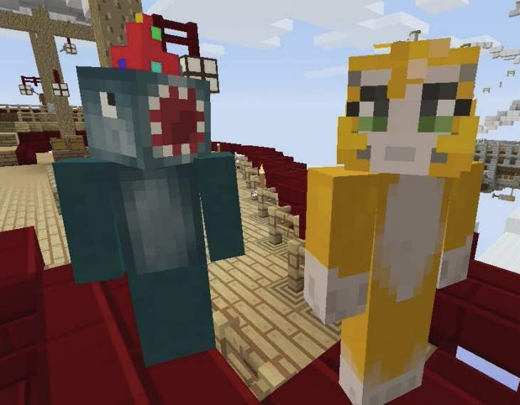 Minecraft TU19 with se...
