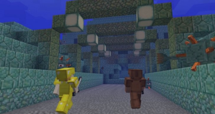 Minecraft Wii U update 1.8.8 notes with TU31 on hold