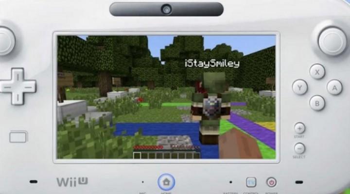 Minecraft Wii U release date in 2014 a mystery