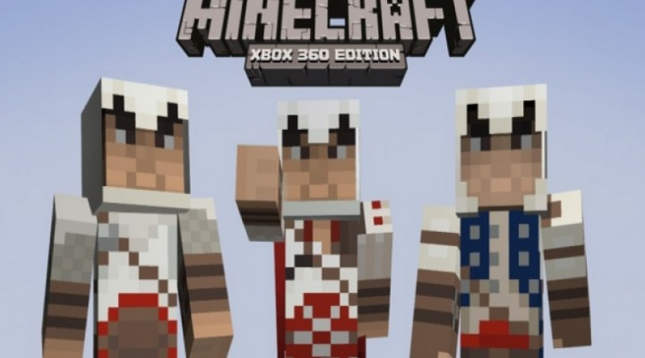 Minecraft Skin Pack 4 for Xbox 360, with disc version