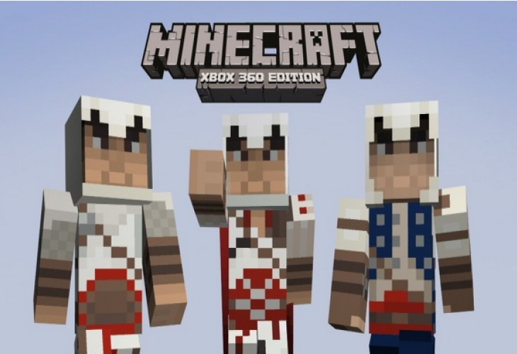 Minecraft Skin Pack 4 for Xbox 360, with disc version ...