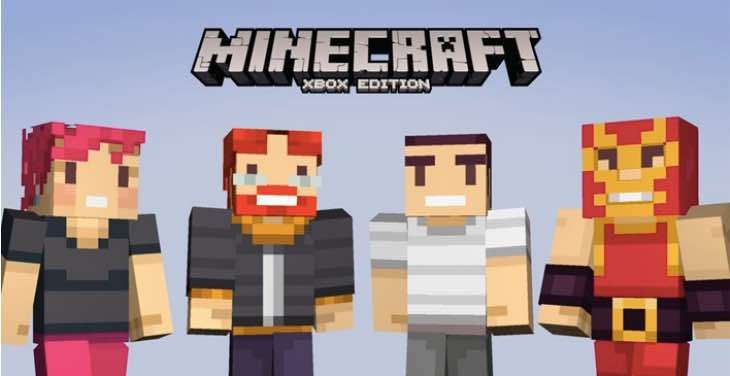 Free Minecraft skins for Xbox One players – Product ...