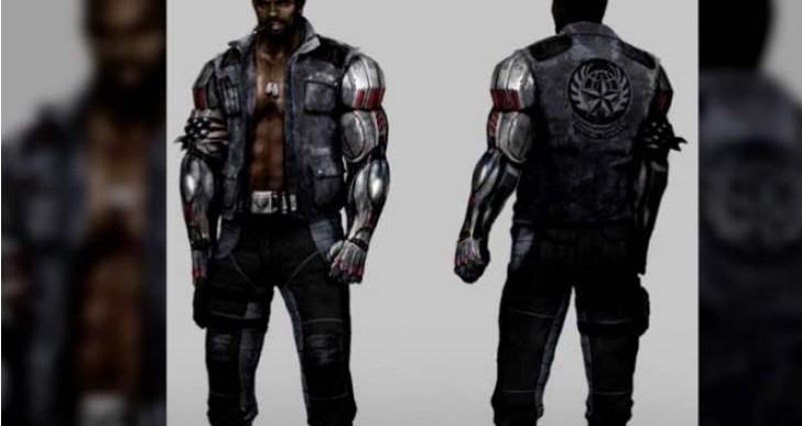 Mortal Kombat X Johnny Cage and Jax in new leak