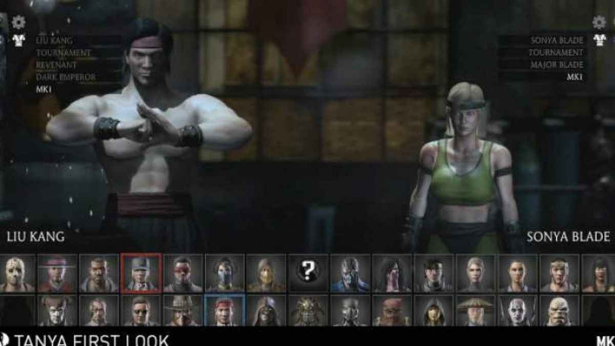 Mortal Kombat X Mk1 Skins Gameplay For Liu Kang Sonya