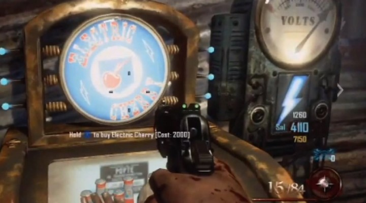 Mob of the Dead Zombies perks include Electric Cherry
