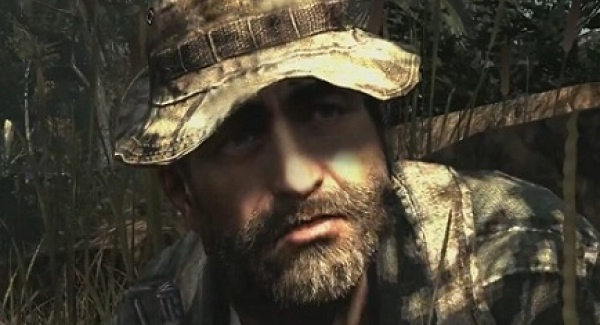 Has to be captain price who is played by english actor billy murray