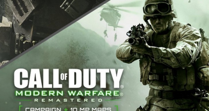 Play Modern Warfare Remastered this week on PS4