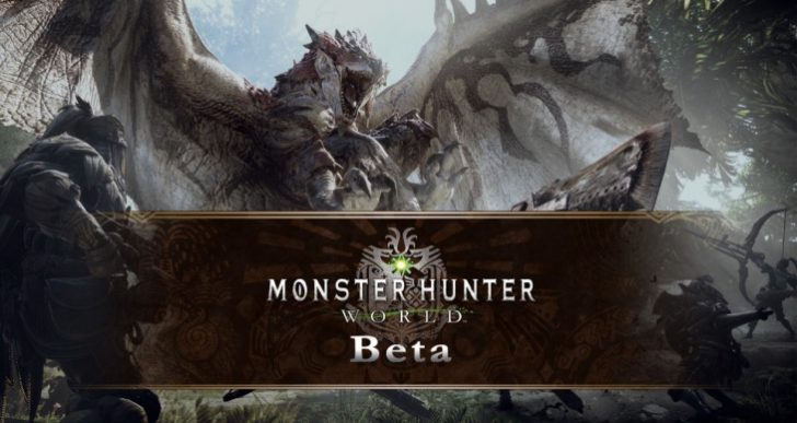 Monster Hunter World PS4 beta start time for US, UK
