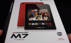 Monster M7 Tablet charging port, freeze problems persist