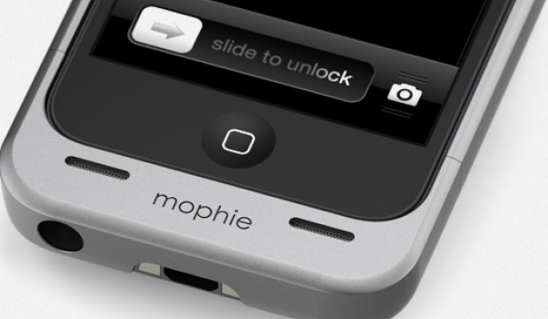 iPhone 5 battery lifesaver with Mophie juice pack