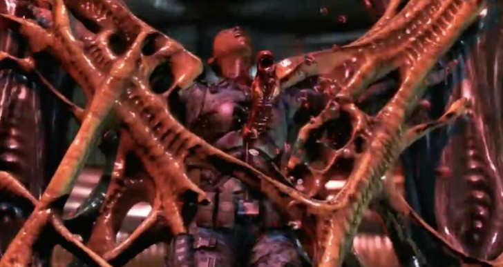 Mortal Kombat X Alien fatality 1, 2 gameplay debate