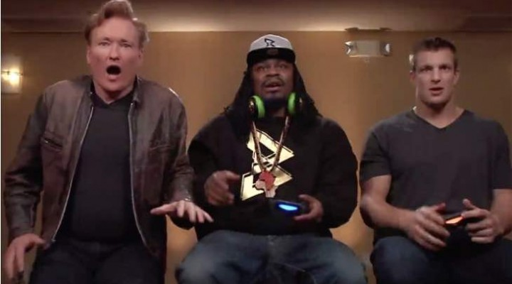 Beastmode Vs Gronk in Mortal Kombat X showdown
