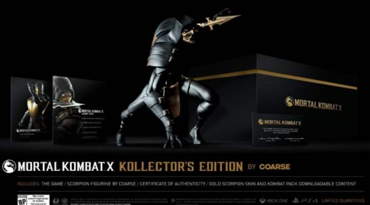 Mortal Kombat X Coarse Collector's Edition Vs Import differences