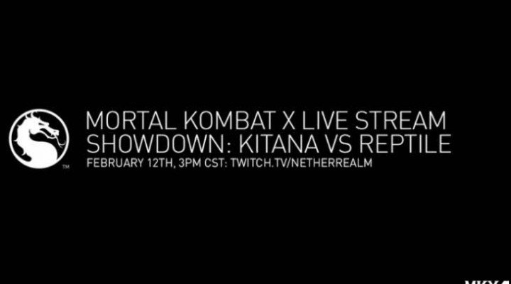 Mortal Kombat X Reptile live stream times for UK, US