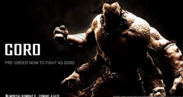 Mortal Kombat X Goro Fatalities, move list hype
