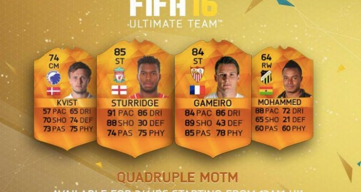 MOTM Sturridge review before BPL TOTS today