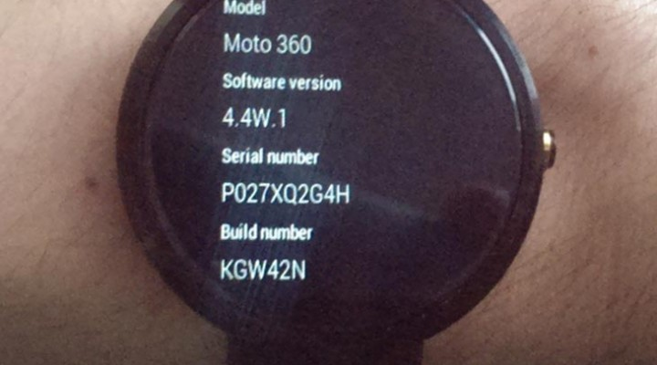 Android Wear 4.4W.1 and the next update
