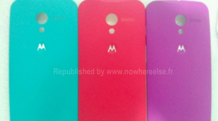 Moto X cases may come in 16 colors