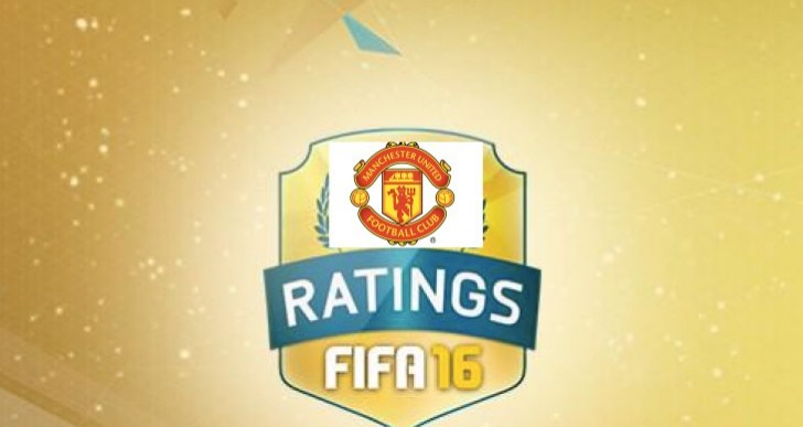 Manchester United FIFA 16 player ratings list