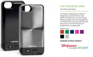 myCharge iPhone 6 battery case desired
