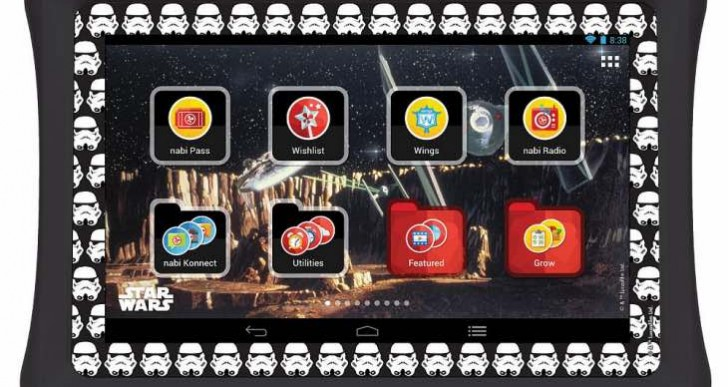 nabi Star Wars Collector's Edition tablet bundle review delight