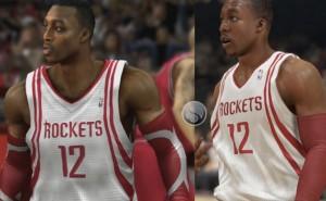 NBA 2K14 Dwight Howard PS4 Vs PS3 graphics shock
