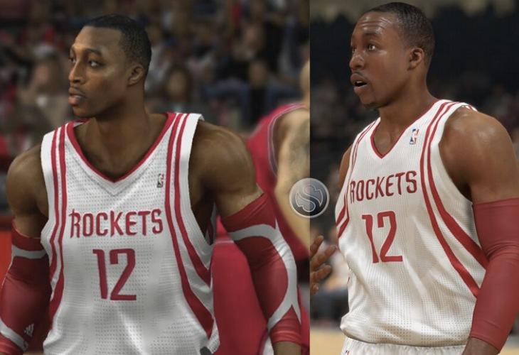 NBA 2K14 Dwight Howard PS4 Vs PS3 graphics shock – Product ...