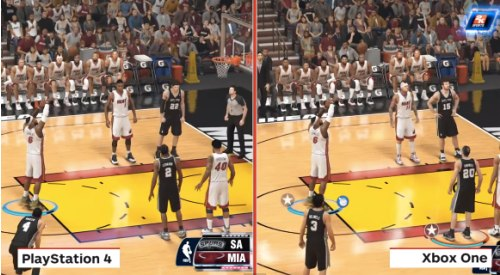 NBA 2K14 PS4 Vs Xbox One graphics post-launch | Product ...