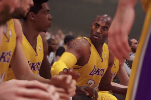 Even Kobe looks good.