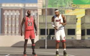 NBA 2K14 PS4 Michael Jordan Vs Lebron James