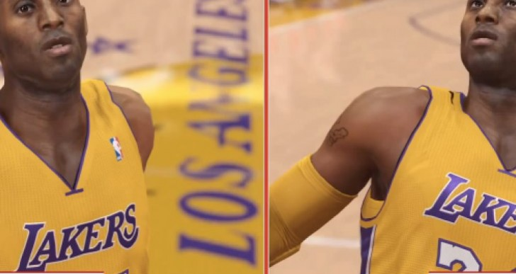 NBA 2K14 PS4 Vs Xbox One graphics post-launch